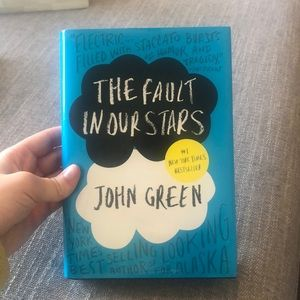 """The Fault in our Stars"" Book by John Greene"
